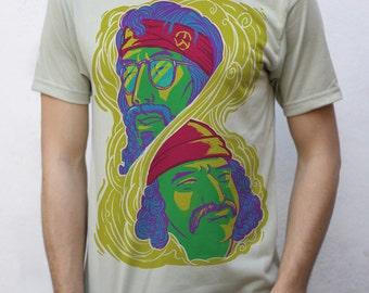 Cheech and Chong T shirt, Up in smoke
