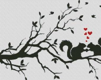 Cross Stitch Pattern In Love PDF