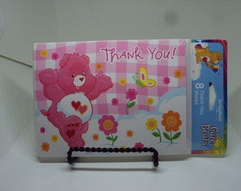 Care Bears Thank You note cards 2002