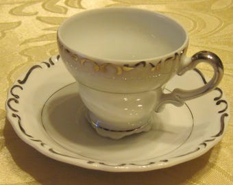 Ucagco Demi Cup & Saucer Heirloom Japan