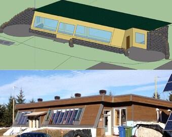 Guide de planification d'une maison de style Earthship