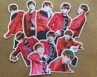 BTS Jungkook Stickers