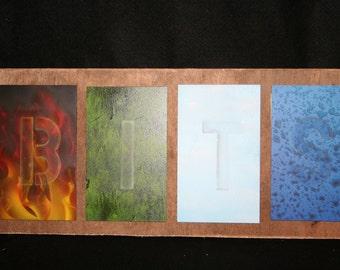 4 natural elements