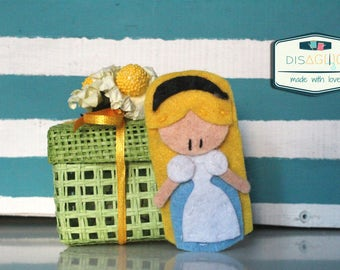 "10 wedding favors ""(Mini) Disney Princesses""/birthday/communion/baptism/ideas for toddlers/felt"