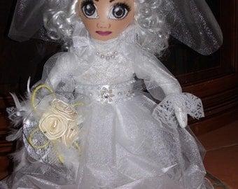 Handmade doll wedding