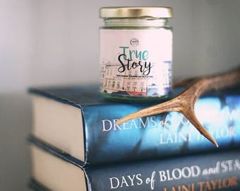 True Story {Daughter of Smoke and Bone by Laini Taylor} Candle