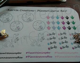 Plannersaurus Rex Planner stickers!