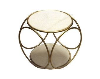 "Coffee table ""4 circles"""