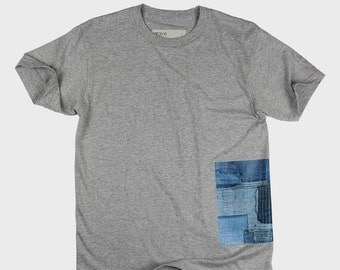 BoroBoro Cotton T-Shirt (Melange Grey)