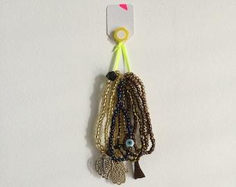 Hamsa Goldy Bracelets Set