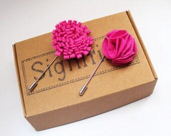 Pink Lapel Pins