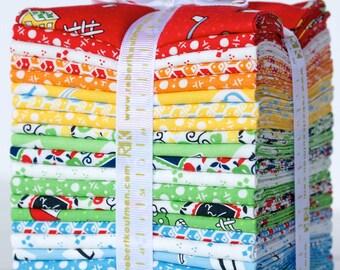 My ABC Book Fat Quarter Bundle by Darlene Zimmerman for Robert Kaufman Fabrics