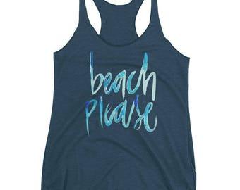 Beach Please Tank Top (women's)