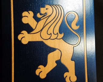 Leo the Lion wall plaque