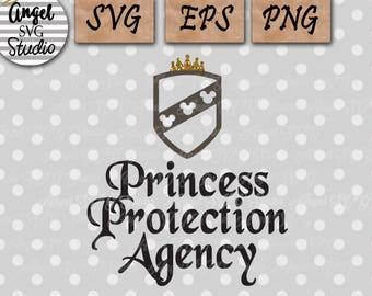 Princess Protection Agency SVG EPS PNG Cricit Cut File