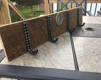 Custom Harley Davidson Coat rack