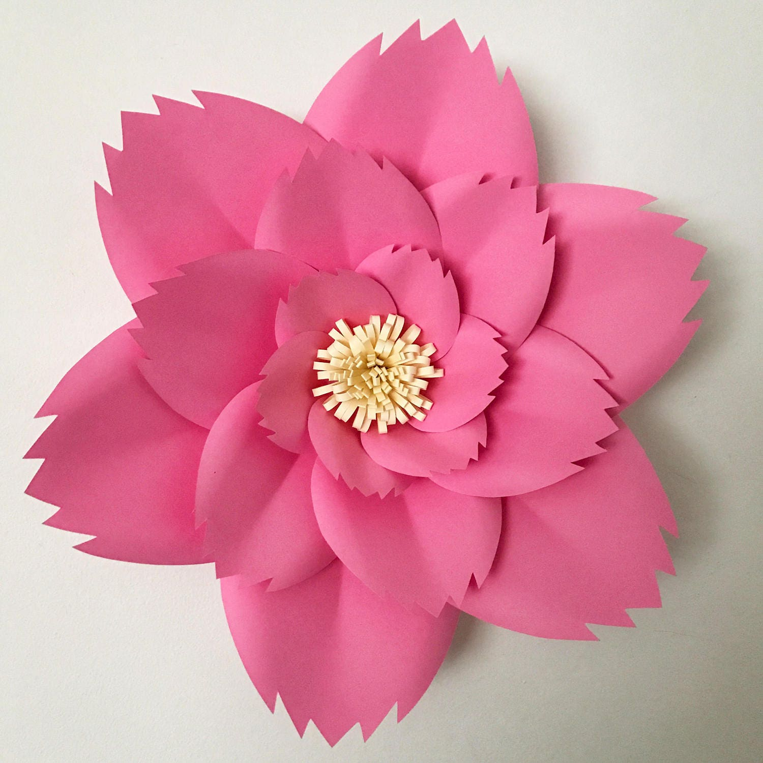 Pdf Petal 46 Paper Flower Template With Base Digital Version