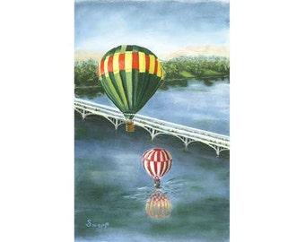 Hot Air Balloons - PRINTS