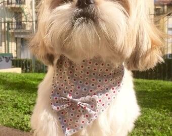 For liberty accessories dog bandana size for shih tzu, Lhasa apso, bichon...