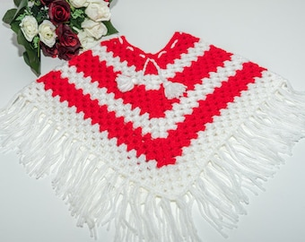 Poncho for la little girl 3 years