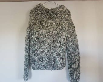 Ladies hand knitted jumper
