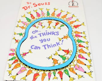 DR. SEUSS Oh, The Thinks You Can Think! Book ~ Dr. Seuss Books ~ Dr. Seuss Beginner Books ~ Dr. Seuss ~ Dr. Seuss Children's Books ~ Books