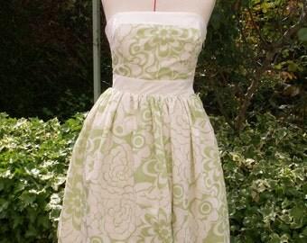 strapless dress short woman
