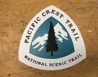 PCT Pacific Crest Trail Sign