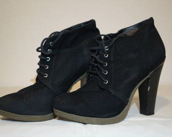 Black High Heels/Boot