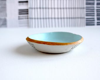 Small Clay Bowl/Jewelry Dish