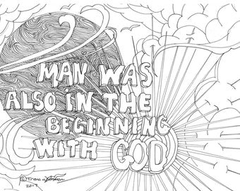 LDS coloring page