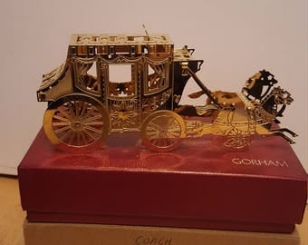 Toys Of Christmas Collection by Gorham (Stage Coach)