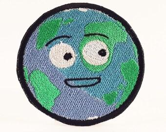 Don't Hug Me I'm Scared - Globe patch