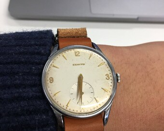 REDUCED !!! **** Vintage Zenith Sportio Watch with great patina