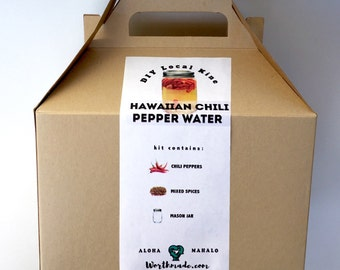 DIY Hawaiian Chili Pepper Kit