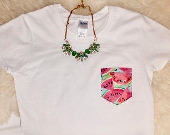 Watermelon Pocket Shirt