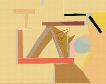 Art Book contemporary geometric digital prints #10