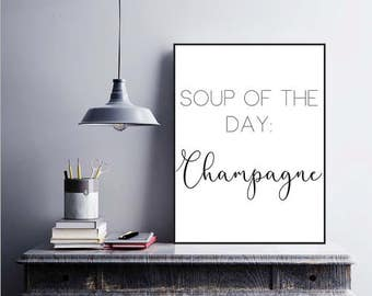 Soup of the the day printable