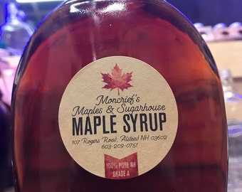 100% Pure NH Maple Syrup