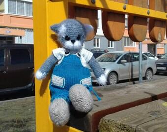 Catdoll Catplush Stuffedcat Dressedcat