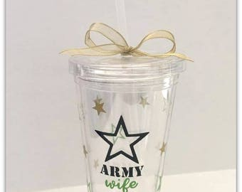 Army | Wife | Wives| Tumbler | Military | Wine Glass | Pint Glass