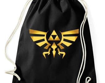 TRIFORCE symbol logo bag