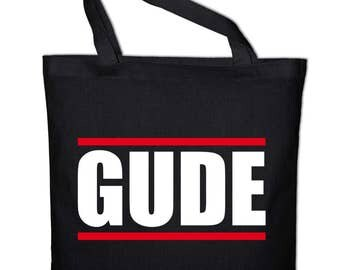 Gude greeting tote bag, canvas bag