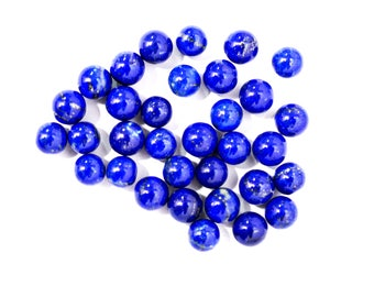 AAA Quality Natural LAPIS LAZULI Ball Shape 9-9.5 mm (finest polish and cut) / 5 Piece