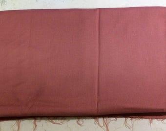 Dusky Salmon Wollen Crepe Cloth