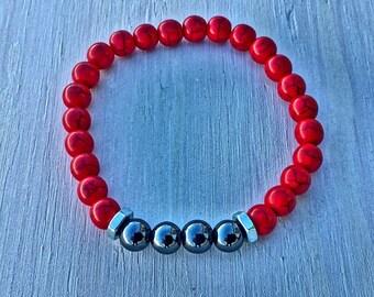 Men's Stretch Bead Bracelet