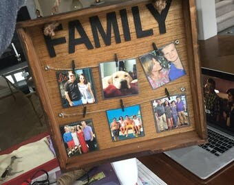Customized Photo Collage Frame