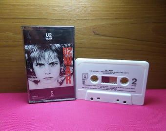 U2 - War - cassette tape