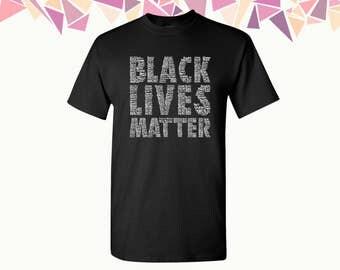 Black Lives Matter T Shirts Black Lives Matter Shirts Tees All Lives Matter Mens T-shirt Mens Shirts Mens Tees Party Shirt Tees Gift For Him