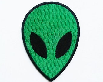 The green alien patch.